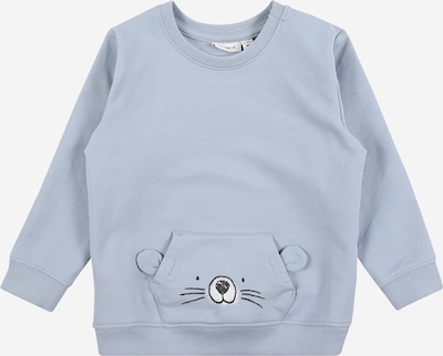 NAME IT Sweatshirt 'BISUM' in nachtblau / hellblau, Produktansicht