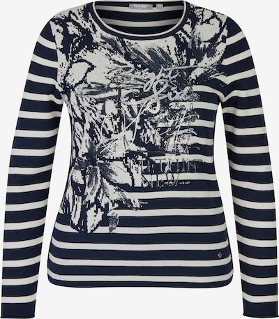 Rabe Pullover in marine / weiß, Produktansicht