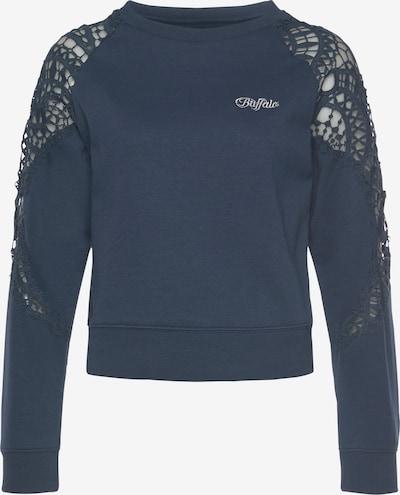 BUFFALO Sweatshirt in navy / silber, Produktansicht