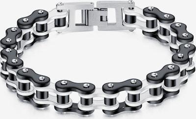 FIRETTI Armband in schwarz / weiß, Produktansicht