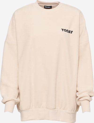 Tally Weijl Sweatshirt in beige / schwarz, Produktansicht
