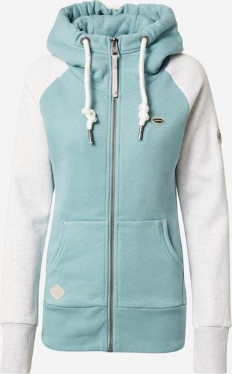 Ragwear Sweatjacke 'NESKA' in pastellblau / weiß, Produktansicht