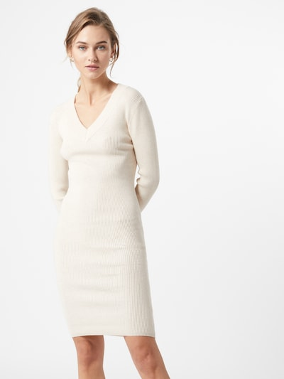 OBJECT Kleid 'Fae Thess' in creme, Modelansicht