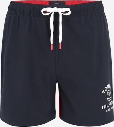 Tommy Hilfiger Underwear Zwemshorts in de kleur Donkerblauw / Rood / Wit, Productweergave