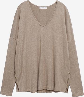 T-shirt MANGO en gris