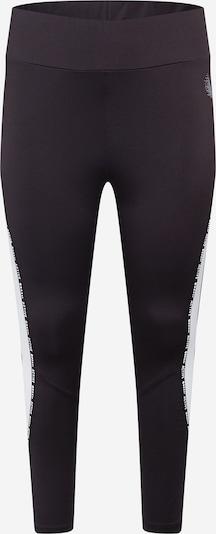 Pantaloni sportivi 'SELENA' Active by Zizzi di colore nero / bianco, Visualizzazione prodotti