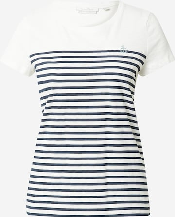 TOM TAILOR DENIM T-Shirt in Weiß