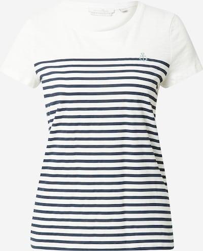 Maglietta TOM TAILOR DENIM di colore marino / bianco, Visualizzazione prodotti