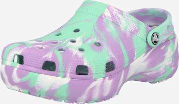Crocs Classic Flats in Green