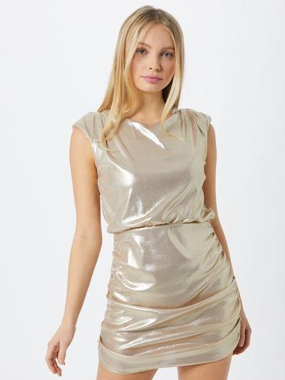 Miss Selfridge Kleid in gold, Modelansicht
