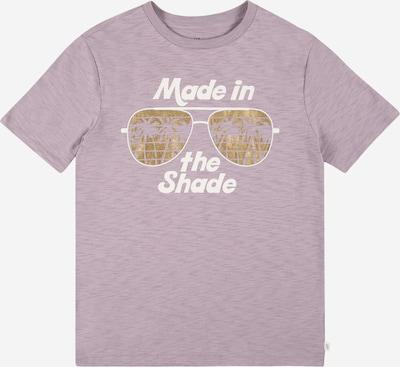 GAP Shirt in de kleur Goud / Lila gemêleerd / Wit, Productweergave