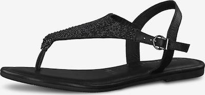 TAMARIS Zehentrenner in schwarz, Produktansicht