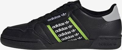 ADIDAS ORIGINALS Sneakers laag 'Continental 80' in de kleur Appel / Zwart / Wit, Productweergave