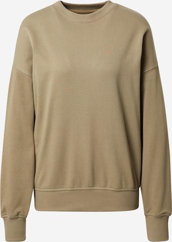 A LOT LESS Sweatshirt 'Rosie' in Green