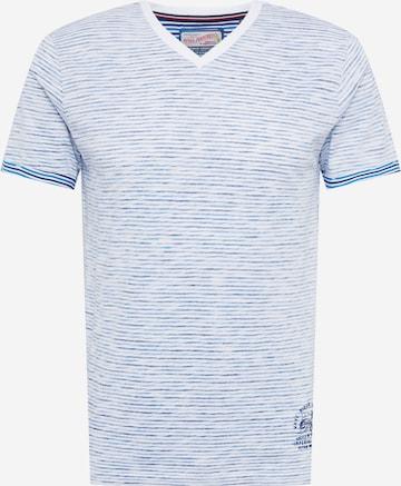 T-Shirt Petrol Industries en bleu