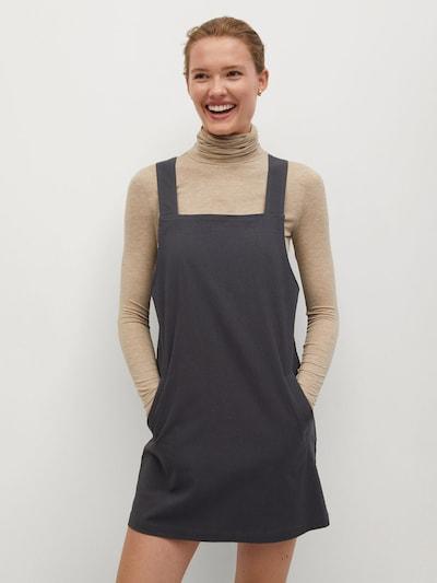 MANGO Laclová sukně - antracitová, Model/ka