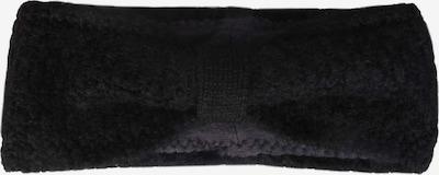 Zwillingsherz Stirnband in schwarz, Produktansicht