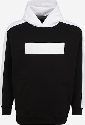 Sweat-shirt Calvin Klein Jeans Plus en noir