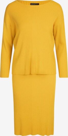 APART Strick-Set als Pullover und Rock in senf, Produktansicht