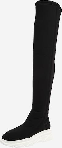 juoda F_WD Ilgaauliai batai virš kelių 'XP5_ SCUBX 2'