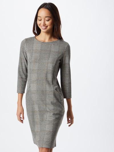 MORE & MORE Kleid in braun / grau / schwarz / weiß, Modelansicht