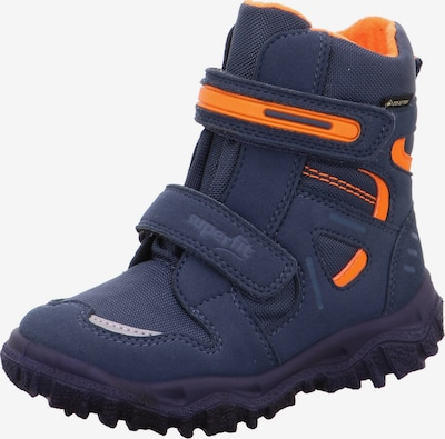 SUPERFIT Snow Boots 'Husky' in Dark blue / Grey / Orange, Item view