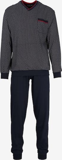 Götzburg Pyjama in nachtblau / rot, Produktansicht