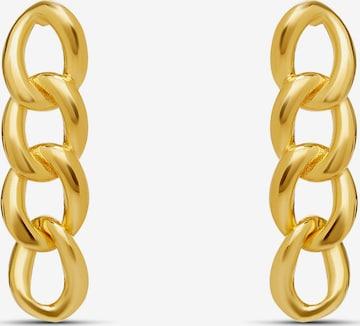 MOSUO JEWELLERY Kõrvarõngas 'Chunky', värv Kuld