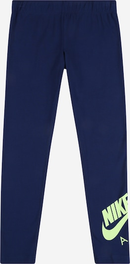 Nike Sportswear Leggings in de kleur Navy / Pastelgroen, Productweergave