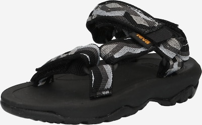 Pantofi deschiși TEVA pe gri bazalt / gri argintiu / negru, Vizualizare produs