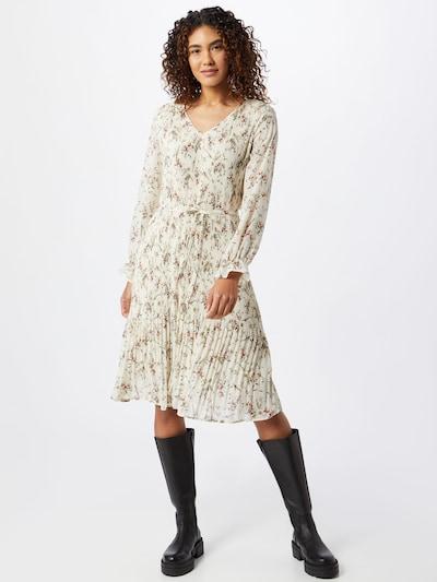 JACQUELINE de YONG Kleid 'Emma' in creme / mischfarben, Modelansicht