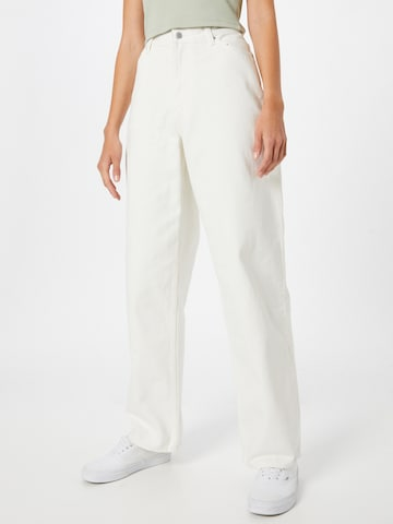 Jeans 'Rail' di WEEKDAY in bianco