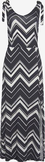 LAURA SCOTT Kleid in grau / schwarz / weiß, Produktansicht