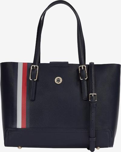 TOMMY HILFIGER Nakupovalna torba 'Honey Med' | temno modra / rdeča / bela barva, Prikaz izdelka