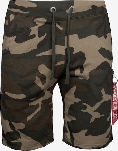ALPHA INDUSTRIES Shorts in mischfarben, Produktansicht