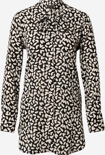 COMMA Bluse in beige / schwarz, Produktansicht