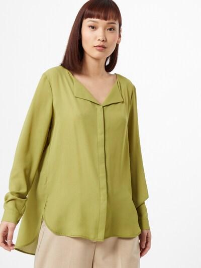 VILA Bluse in grün, Modelansicht