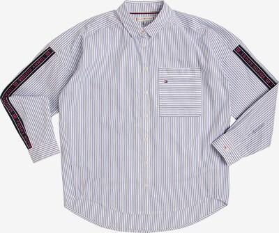 TOMMY HILFIGER Bluse in blau / weiß, Produktansicht