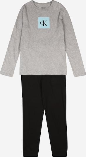 Miego kostiumas iš Calvin Klein Underwear , spalva - šviesiai mėlyna / pilka / juoda, Prekių apžvalga