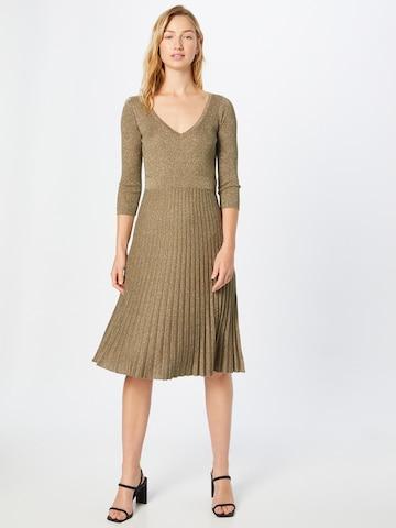 LIU JO JEANS Knitted dress 'ABITO MAGLIA' in Green