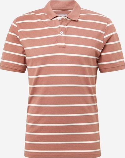 Only & Sons Paita 'COOPER' värissä vaaleanruskea / valkoinen: Näkymä edestä