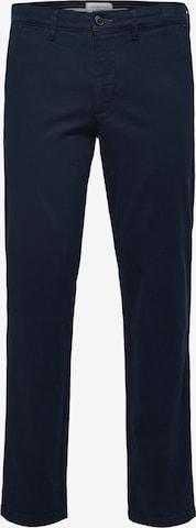 SELECTED HOMME Chino-püksid 'Miles', värv sinine