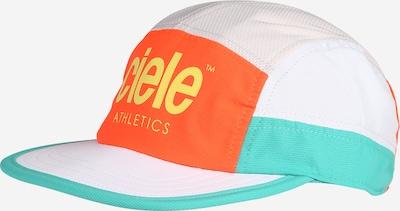 CIELE ATHLETICS Cap in Turquoise / Lime / Neon orange / White, Item view