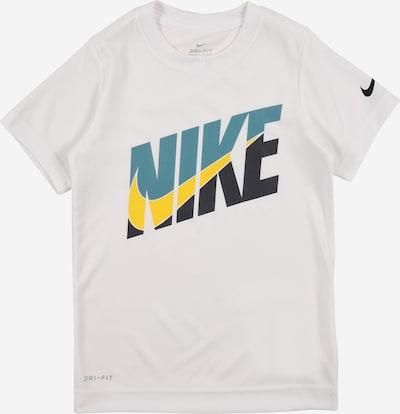 NIKE Shirt in navy / himmelblau / gelb / weiß, Produktansicht