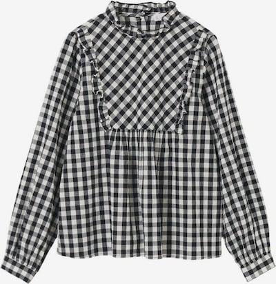 MANGO KIDS Blouse 'Sarah' in Light grey / Dark grey / Black / White, Item view