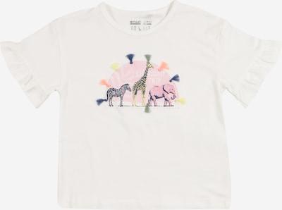 STACCATO Shirt in hellgelb / oliv / dunkellila / hellpink / weiß, Produktansicht