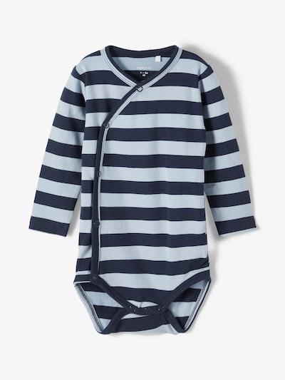 NAME IT Pijama entero/body en azul noche / azul claro, Vista del producto