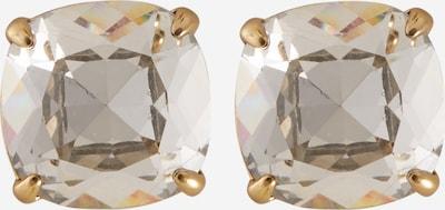 Kate Spade Ohrringe in gold / transparent, Produktansicht