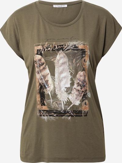 ZABAIONE Shirt 'Isa' in khaki / mischfarben, Produktansicht