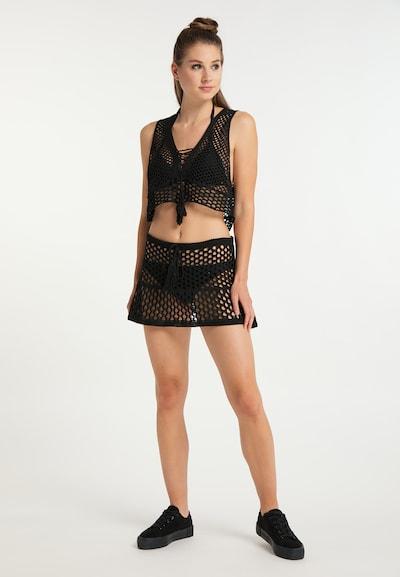 MYMO Kostuum in de kleur Zwart, Modelweergave